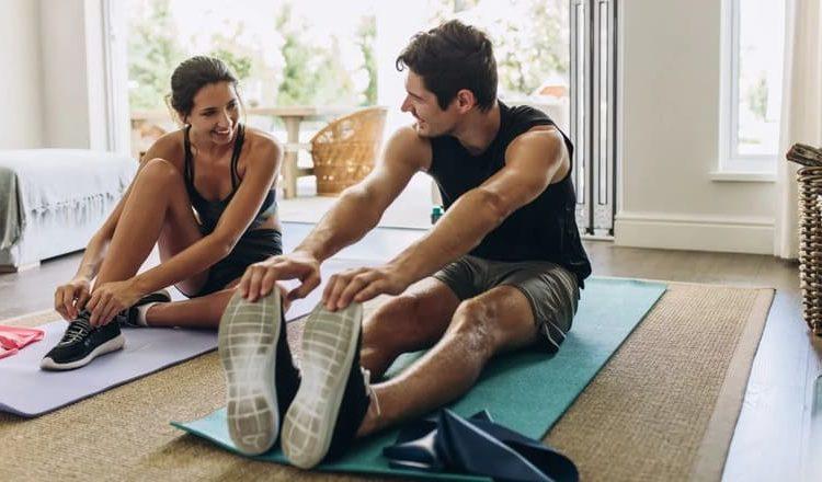Hacer ejercicios en casa