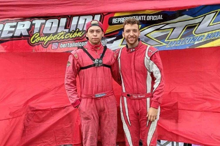 A la izquierda, Marcos Bertolini y a la derecha, Ezequiel