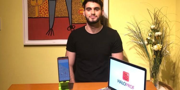 Alan Szumiraj, fundador de Haloprof
